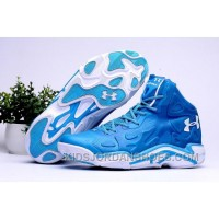 2016 Under Armour Micro G Anatomix Spawn 2 Mens Shoes Blue White Sneakers Super Deals 8Zd6iyM
