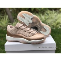 2dc85792e900 New Release Air Jordan 11 Low Women Have Exclusive Gold