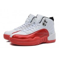 "Air Retro Jordan 12 (XII) OG ""Cherry"" White/Varsity Red-Black Wo"