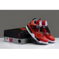 "Nike Basketball Air Jordan 4 ""Got Em"" Laser Corporate Custom Women"