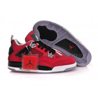 Women Air Jordan 4 Gs Fire Red Basketball Shoes 29070