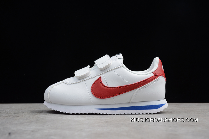 separation shoes 99f18 f2135 Outlet Nike Cortez Basic SL PSY Cortez Retro Velcro Small Kids Shoes  Running Shoes 904767-101