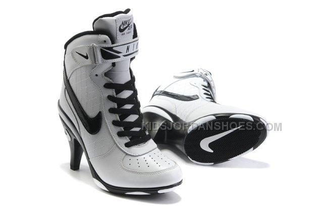 Nike Cheap 1 Black White Heels Ankle Boots Air Sale Force BrxhtQCsd