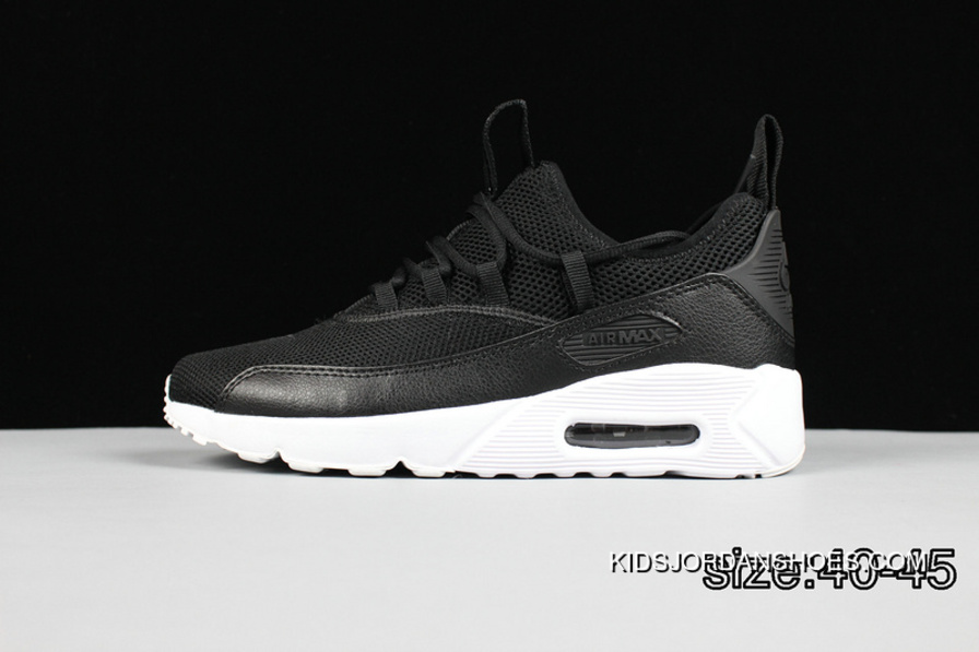 sale retailer 35e46 fdd24 All Black White Nike AIR MAX 90 HUARACHE DRIFT PREMLUM Men Sport Shoes For  Sale