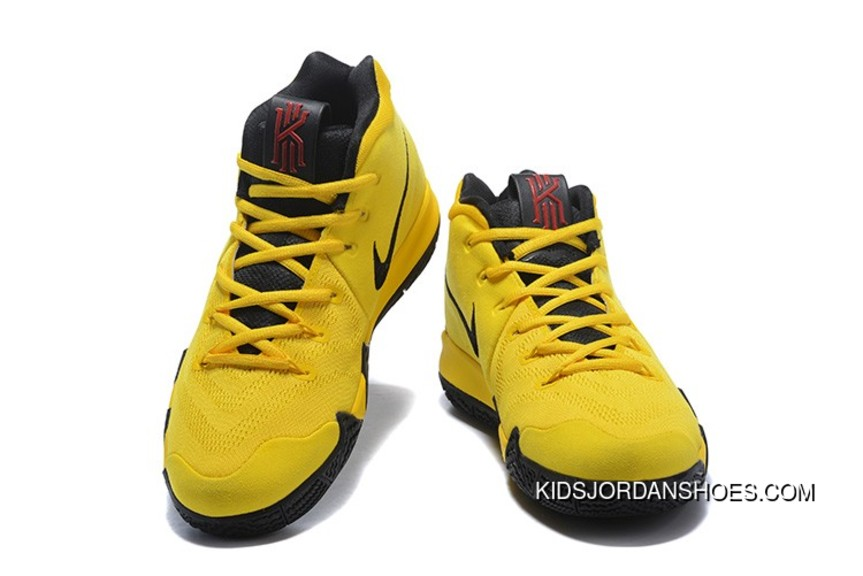 detailed look d8e99 c2c5d 2018 Nike Kyrie 4 Mamba Mentality Bruce Lee In Tour Yellow And Black Top  Deals