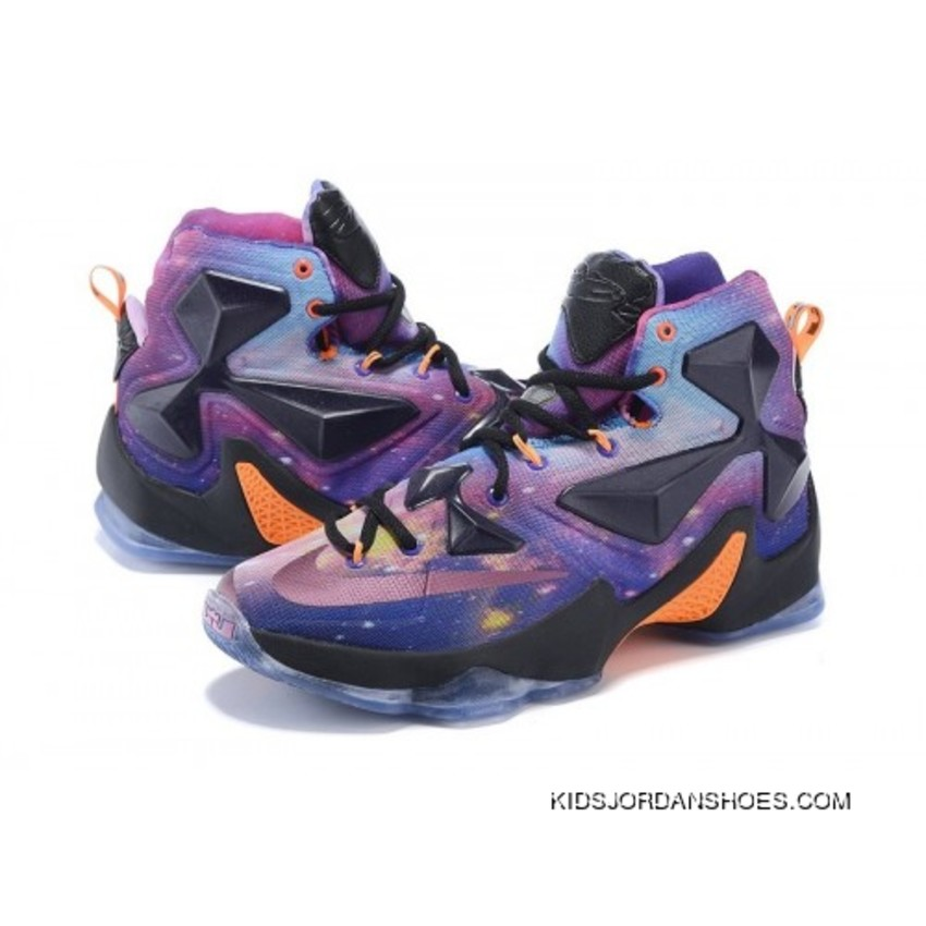 buy popular 3e197 98335 Nike LeBron 13 Kids Shoes Glow All Star Basketball Shoes Online