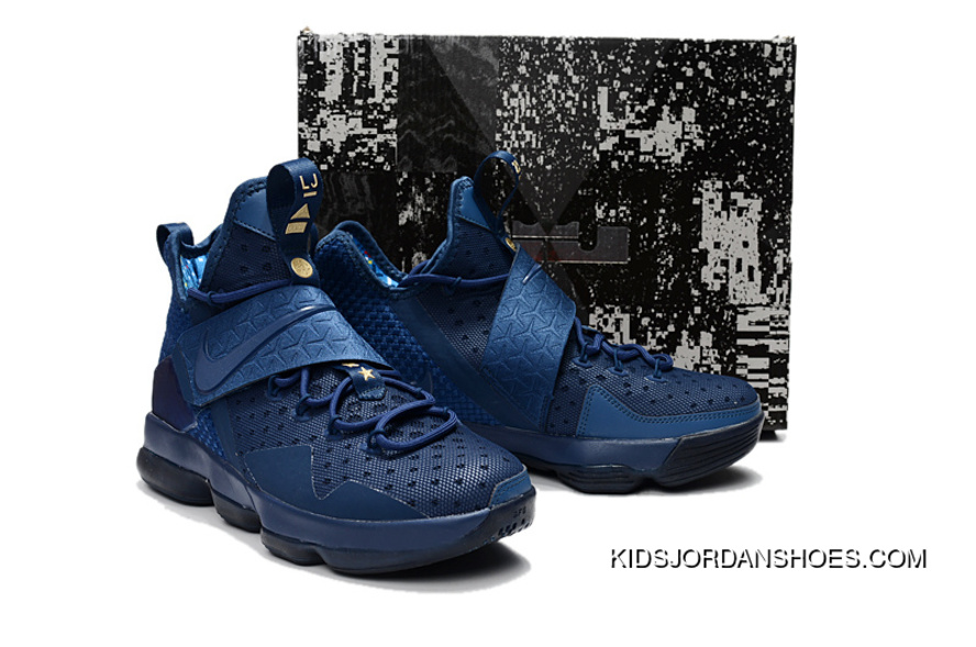 new styles 03baa 644aa Nike Lebron 14 Philippines Blue Men Latest